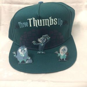 Haunted Mansion Disney Hitchhiking Ghost hat